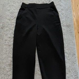 Divided H&M Black Stretch Pants with Pockets